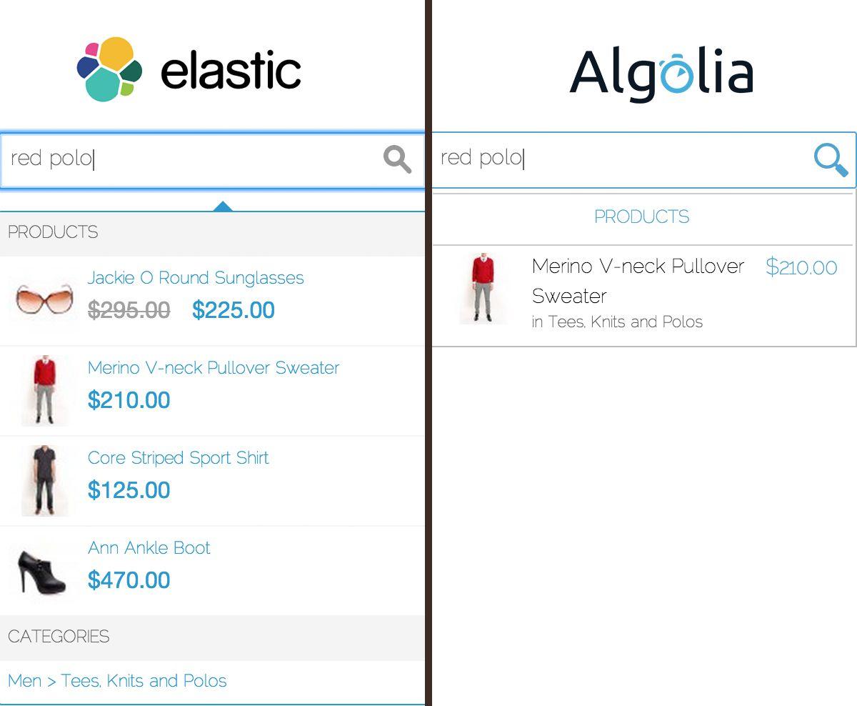 magento elasticsearch algolia relevance attributes